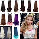 Buy Excellent Quality Synthetic 18 Inch 100g Long Curly Ribbon Ponytail Hairpiece - 12 Colors Available