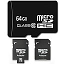 DSB® 64 GB Class 10 Micro SD SDHC TF Flash Memory Card with SD Adapter High Speed Genuine