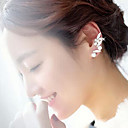 shixin® klassisk pärla diamanted vacker ear cuff (1 st)