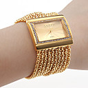 Women's Watch Bracelet Gold Diamond Case Alloy Band Cool Watches Unique Watches