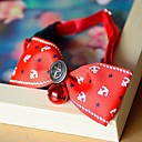 Colorful Luxury Style Adjustable Dog Collar With Bow Tie for Dogs Cats Pets (Neck: 20-32cm)