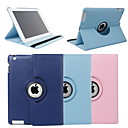 Coque Smart cover + Presentoire 360° - PU cuir - Ipad 2/3/4 - Coloris marron