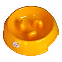 (100-150G) Environmental Resin The Choke Bowl for Pets Dogs (Assorted Colors, Sizes)