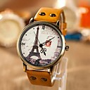 Buy Women's Fashion Personality Leisure Map Iron Tower Watch Cool Watches Unique