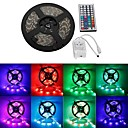 waterdichte 5m 300x3528 SMD RGB LED strip flexibele light + rgb 44Key afstandsbediening (12V)