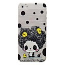 Cartoon Little Girl Pattern PC Brushed Hard Case for iPhone5/5s