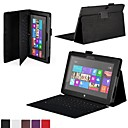 Shy Bear™ Leather Cover Tablet Case Without Keyboard for Microsoft Surface RT 10.6