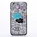 Cotton Backgrond Embossment Pattern  PC Hard Case for iPhone 6