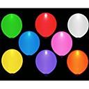 10pcs førte balloms (tilfældig farve)