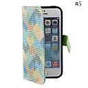 coway pintado triângulo degola pano caso coldre telefone móvel para iphone5 / 5s (cores sortidas)