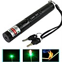 Ze stopu aluminium - Green Laser Pointer - Pen Shaped