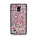 Elonbo Contrast Color Triangle Plastic Hard Back Case Cover for Samsung Galaxy Note 4