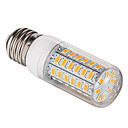 E26/E27 12 W 56 SMD 5730 1200 LM Warm White Corn Bulbs AC 220-240 V