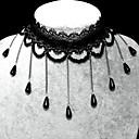 Handmade Elegant Sweet Lolita Longer Pearl Chain Necklace