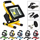 10 W 1 High Power LED 1000 LM Warm White Rechargeable Flood Lights AC 100-240 V