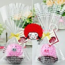 Birthday Gift Pig Shape Fiber Creative Towel (Random Color)