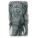 Kinston Left Side Of the Elephant Pattern PU Leather Full Body Cover with Stand for Nokia Lumia 625