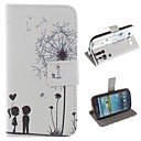 Lovers Dandelion Design PU Leather Full Body Protective Case with Stand for Samsung Galaxy S3 I9300