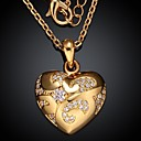 Buy Necklace Pendant Necklaces Jewelry Wedding / Party Daily Casual Fashion Gold Plated Rose 1pc Gift