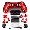 caso controlador de repuesto para el regulador PS4 caso PS4 chapado