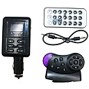 Car Mp3 Player FM Transmitter with LED Screen
