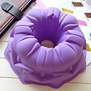 ange moule à cake moule creux de chocolat de gelée de glace, 21,8 × 21,8 silicone × 8 cm (8,6 × 8,6 × 3,1 pouces)