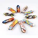 10pieces / lot speelgoed voor kinderen vinger skateboard (enkel gezicht gedrukt)