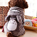 Lovely Velvet Gray Totoro Clothes for Pet Dog(Assorted Sizes)