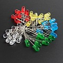 Buy LED5MM Red, Green, Blue Yellow Light-Emitting Diodes 10 Each, Total 5