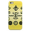 Buy Gold Anchors Pattern Hard Case iPhone 5/5S