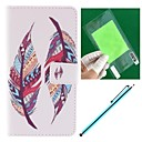 Double Feather Design PU Leather Full Body Case with Screen Protector, Stylus and Stand for Sony Sony Xperia Z3