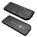 Rii v3 2.4g draadloze keyborad met / touchpad / laser pointer / achtergrondverlichting - zwart