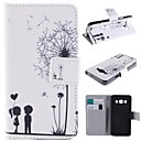 The Dandelion Lover Design PU Leather Full Body Case with Stand and Card Slot for Samsung Galaxy A5/A5000