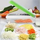 cortador de vegetales multifuncional, abs 11 × 27 × 7 cm (4,3 × 10,6 × 2,8 pulgadas) de color al azar