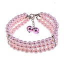 Dog Necklaces Spring/Fall - Pink - Cosplay - Plastic