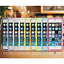 Transparent Hard PC TPU Cover Case for iPhone 5/5C/5S (Assorted Colors)