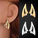 Buy U7® Classic 18K Real Gold Plated Stud Earrings Rhinestone Crystal Fashion Jewelry