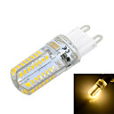 Marsing G9 3 W 64 SMD 3014 600-800 LM Warm White / Cool White T Corn Bulbs AC 220-240 V