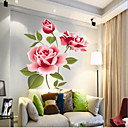 Chinese Style Vivid Blossom PVC Wall Sticker