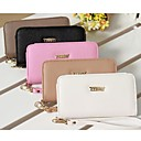 Buy Solid Color PU Leather Wrist Strap Mobile Phone Bag iPhone 4G/4S/5S/5C/6 (Assorted Colors)