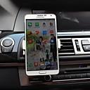 de aire del coche de ventilación universal soporte para teléfono montaje para iphone 6 / más / 5s / 4/3 soporte para Samsung Galaxy Note 4/3/2 s5 / s4