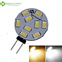G4 GZ4 MR11 4.5W 9x5730/5630SMD LED 360LM 3500K 6000K  Warm White/Cool White LED Spot Lights Light Bulb  DC/AC 9-36V
