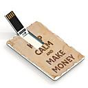 4gb manter a calma e fazer drive flash card usb projeto dinheiro