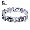 Buy Kalen 2015 Men's Jewelry New Custom Fashion Casting Skull Charm Bracelet