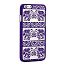 Henna White Floral Paisley Flower Mandala Plastic Case for Iphone6