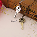 Buy Necklace Pendant Necklaces Jewelry Party / Daily Casual Sports Fashion Alloy Silver 1pc Gift