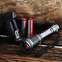Torce LED / Torce LED 5 Modo 2000 Lumens Messa a fuoco regolabile / Impermeabili Cree XM-L T6 18650 / AAA