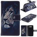 The Lion Face Design PU Leather Full Body Protective Case with Stand  for Samsung S3 I9300