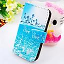 la imagen alrededor de la cartera del cuero del soporte de la PU para i9100 SII Samsung Galaxy S2