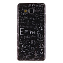 Buy Samsung Galaxy Case Pattern Back Cover Word / Phrase TPU Grand Prime